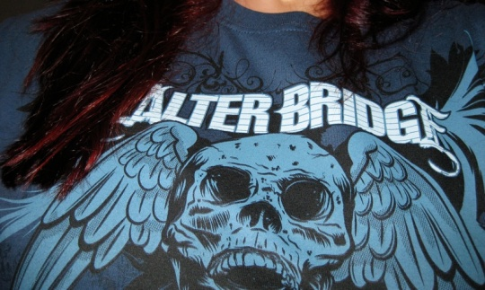 Jag och min t-shirt, Alter Bridge Tour 2008