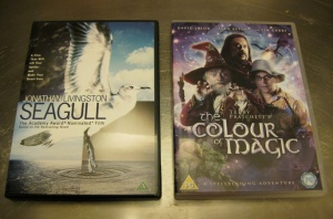 DVD, Jonathan Livingston Seagull + Colour of Magic