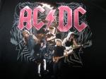 AC/DC-tshirt, Black Ice Tour - framsida
