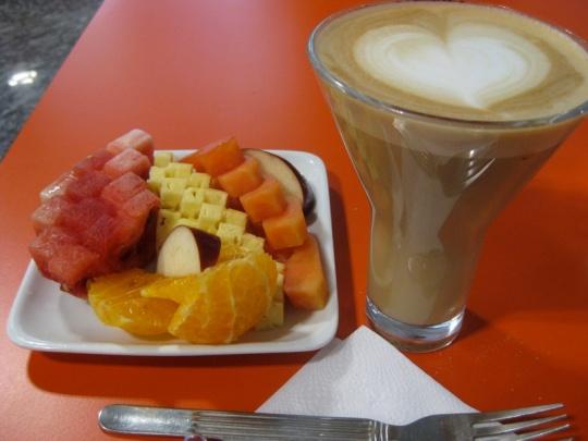 Flygplatsfrukost