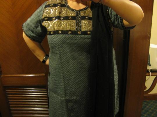Min indiska dress