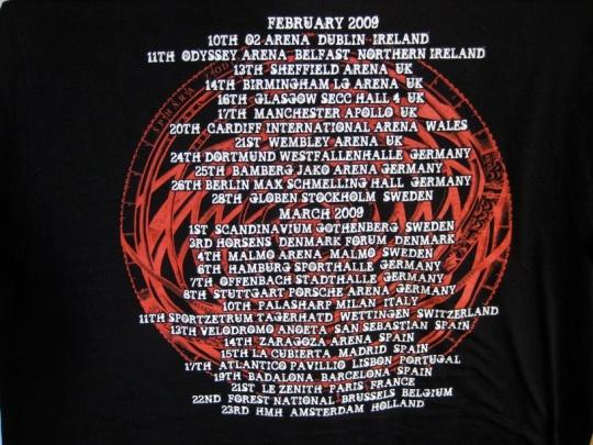 Judas Priest Nostradamus t-shirt - baksida