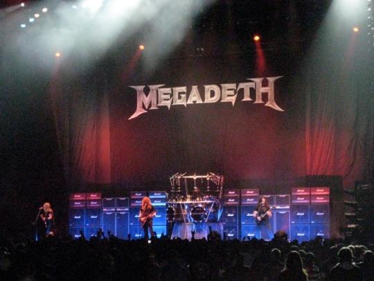 Megadeth, Priest Feast 2009, Globen, Stockholm