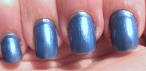Blå naglar